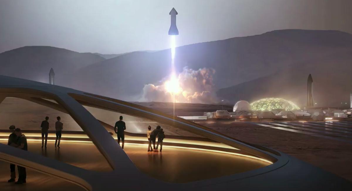 馬斯克公布最新太空計劃,人類最強的星際飛船長這樣