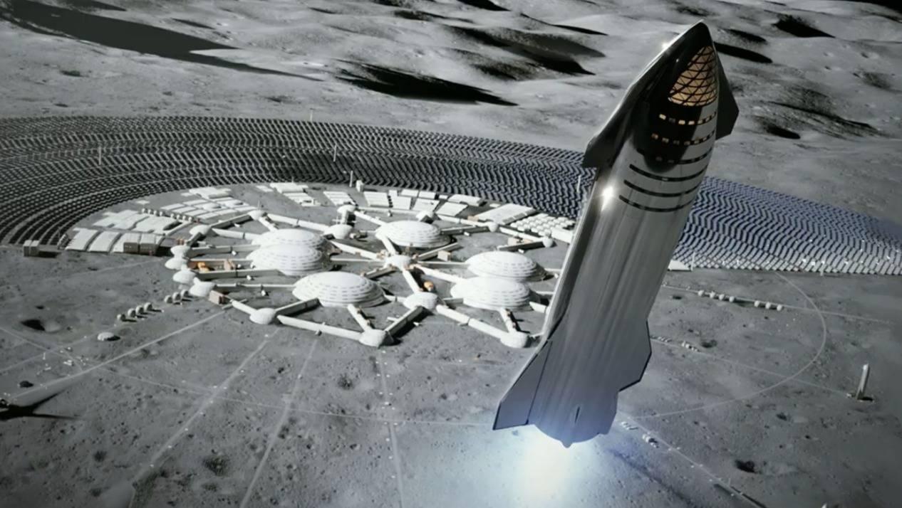 """馬斯克的一小步:發布人類最強大""""星際飛船"""""""