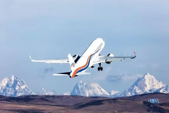 尼泊爾加德滿都至北京的直飛航班10月27日起開通 喜馬拉雅航空公司發布新的公司logo标識