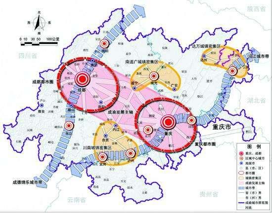 泸州巿区规划图
