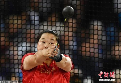 王峥摘铜 中国女子链球再度跻身大赛前三