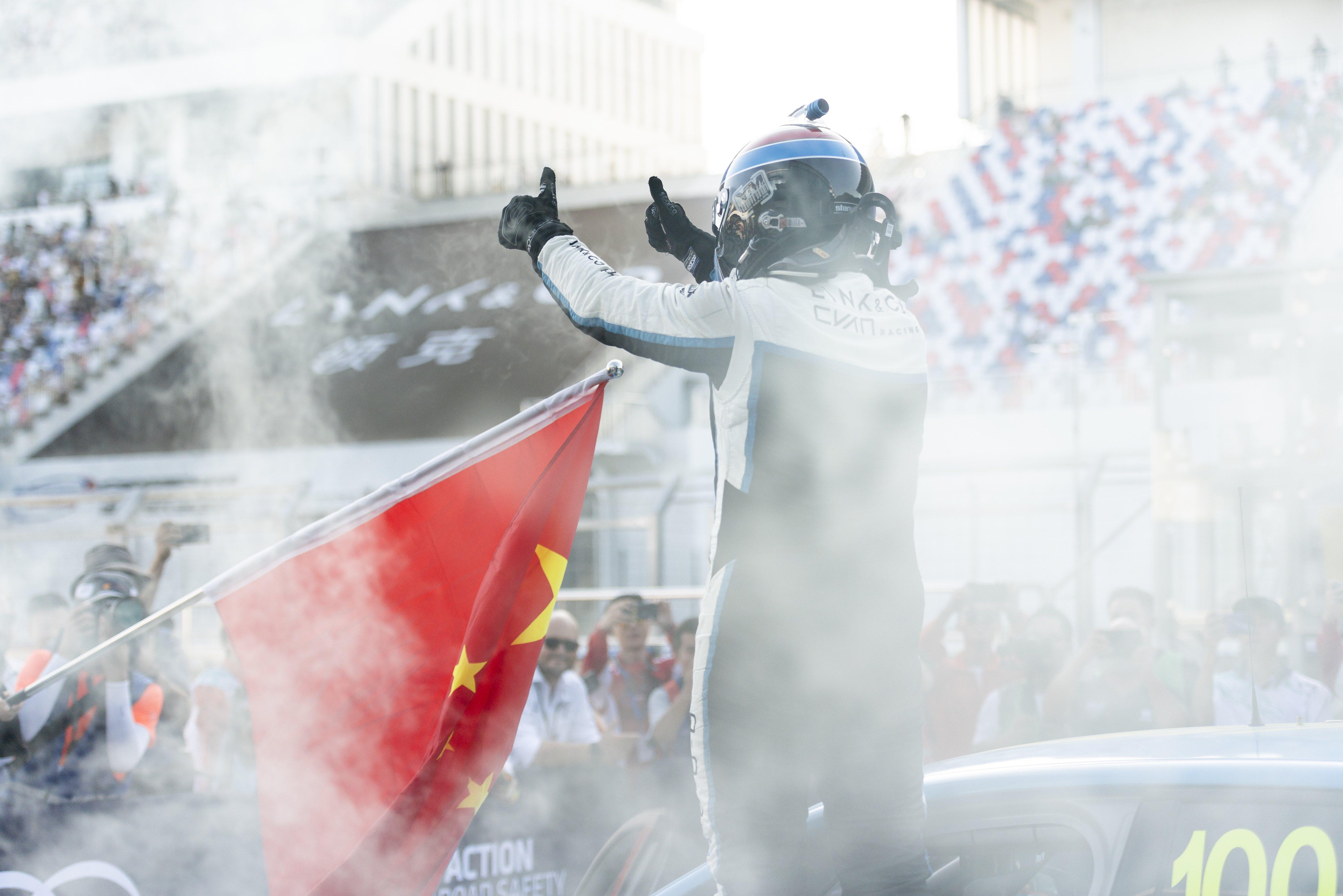中国吉利参与全球汽车运动竞技 让世界看见中国速度