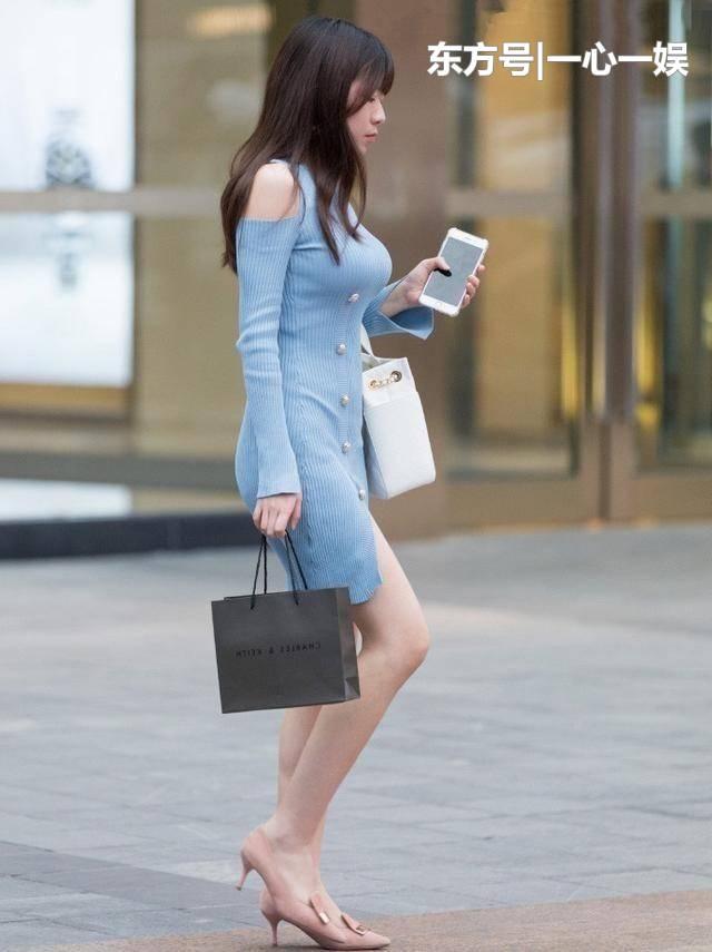 街拍:美女,时尚白皙青春,美丽性感,会穿衣打扮的女孩才有味!