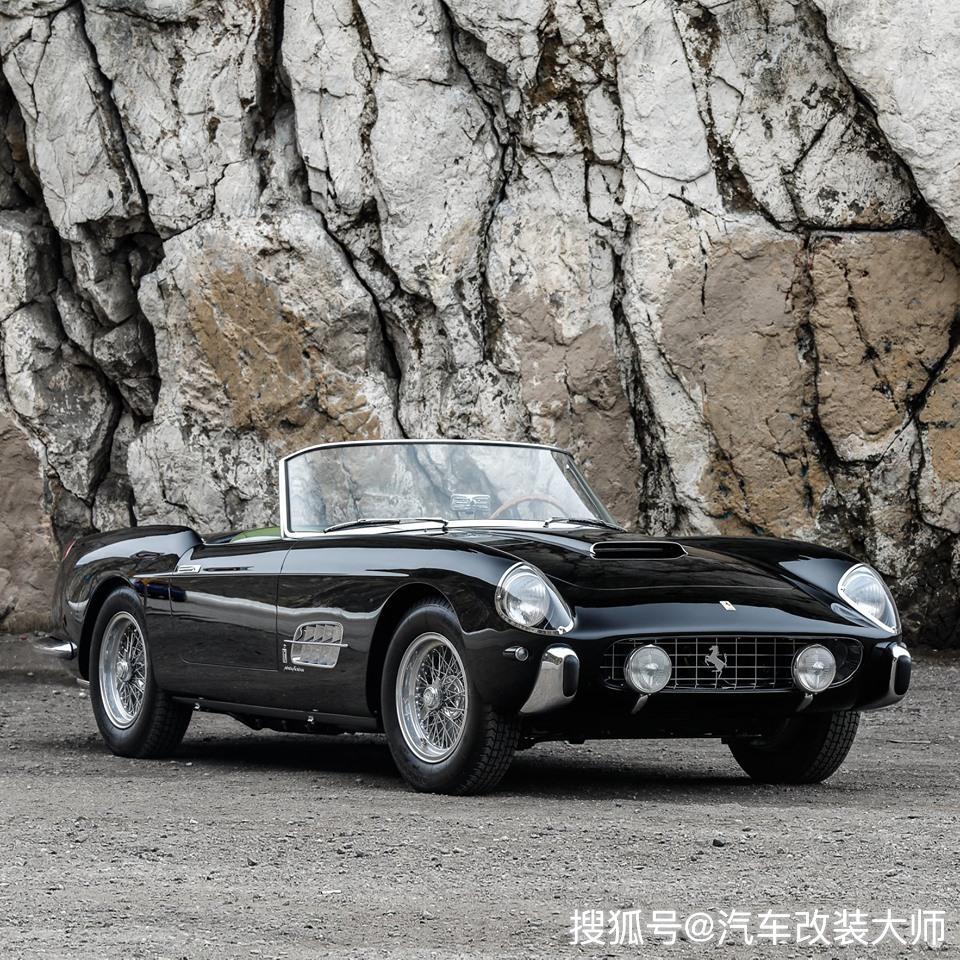 老车新看 1958年法拉利250 GT系列I Cabriolet