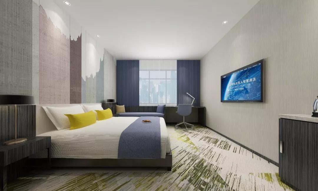 60%开房率和90%开房率的酒店区别?这家无人酒店告诉你