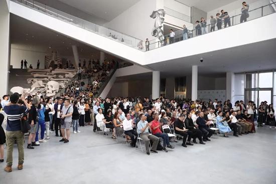 隋建国艺术生涯最大规模个展开幕