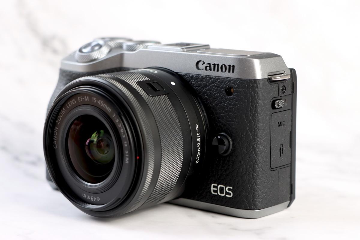 性能精悍的Vlog新机 佳能 EOS M6 Mark II图赏