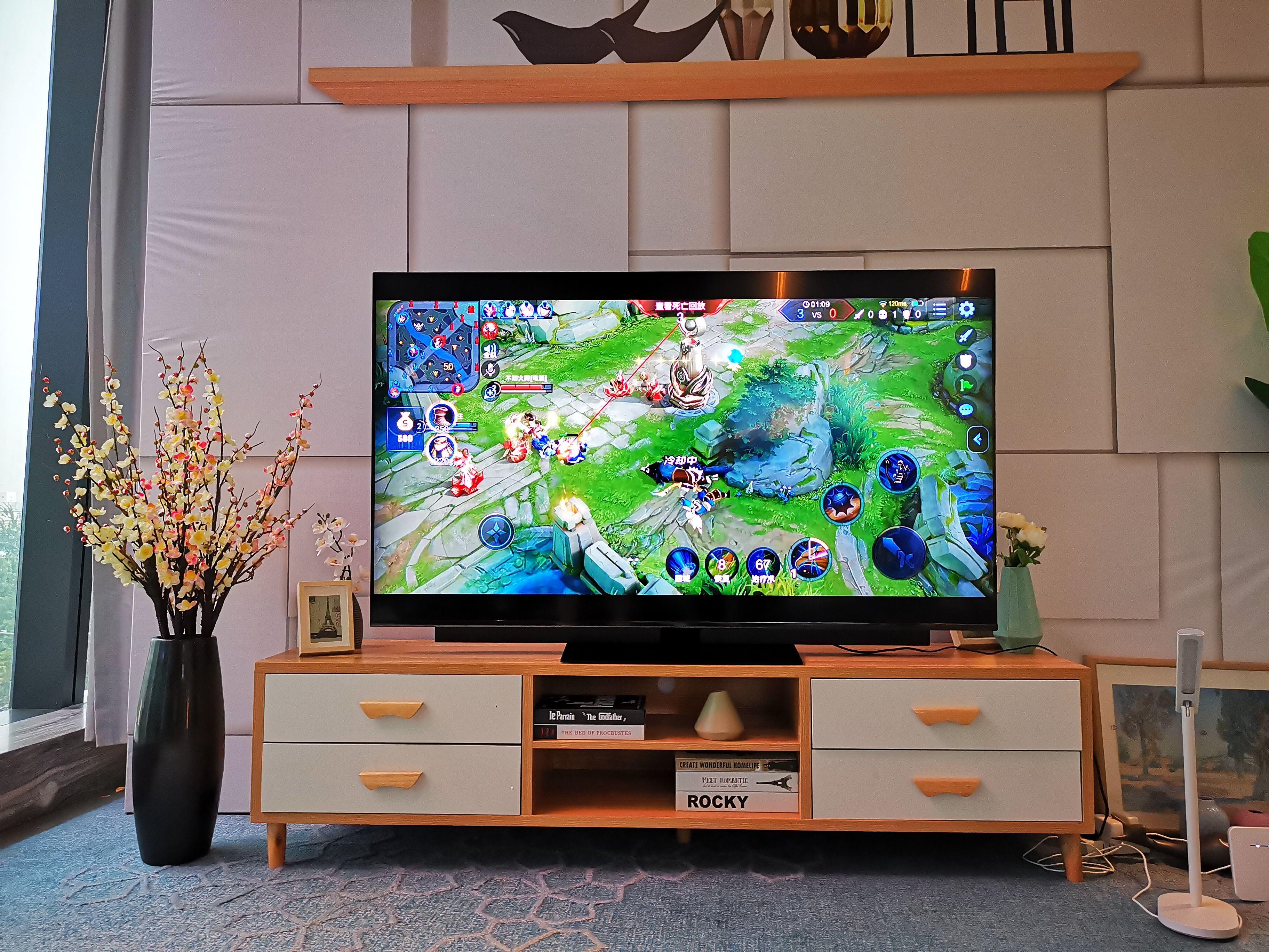 华为智慧屏评测:4K量子点屏幕+AI慧眼+投屏游戏