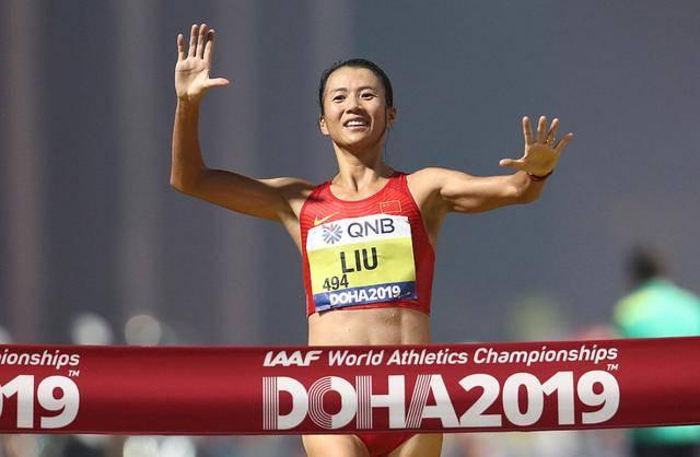中国田径竟有1项具乒乓球级统治刘虹领衔女子20公里竞走包揽前三