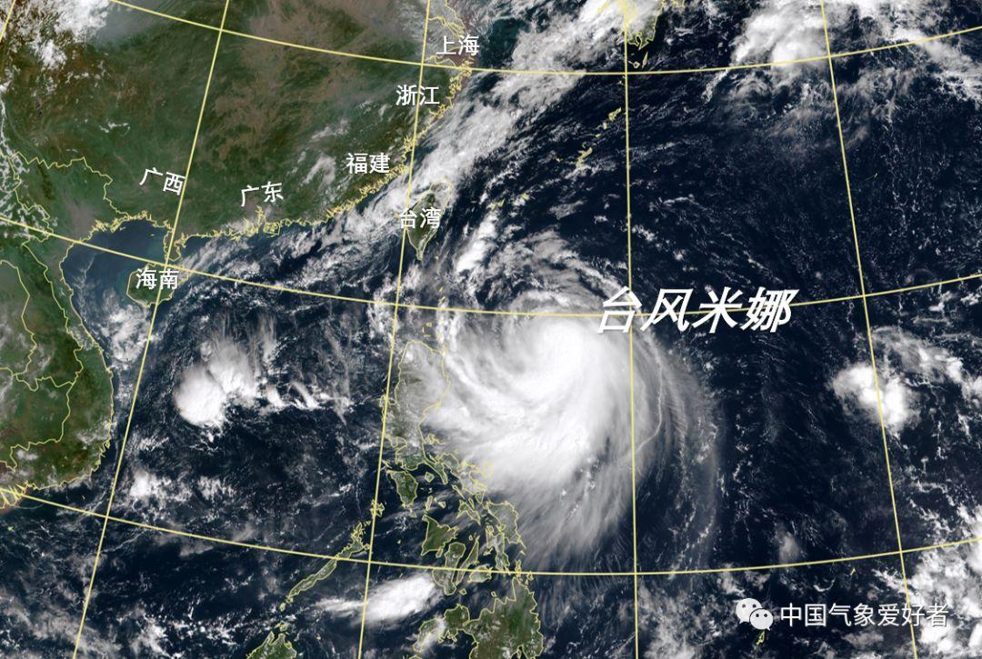 西调 再西调 最强风力达17级 米娜 或袭击浙江 300毫米豪雨倾倒 江浙沪闽台风雨交加