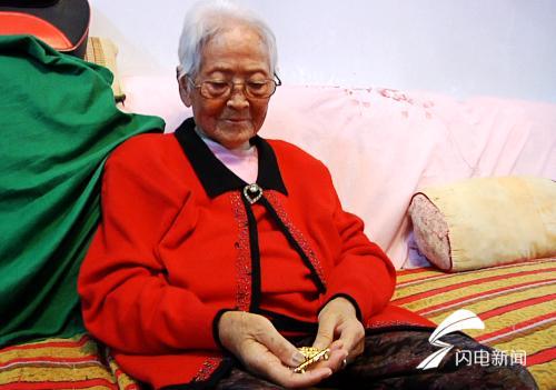"""72年黨齡 解放戰争中救死扶傷 濰坊這位九旬老人獲""""此生最珍貴獎章"""""""