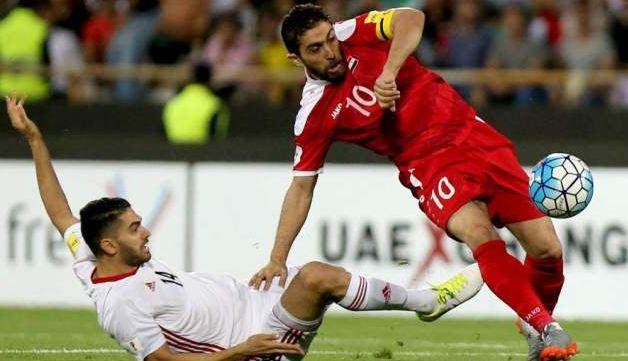 利好消息!外媒曝叙利亚王牌哈蒂布退役,他40强赛首轮还在进球