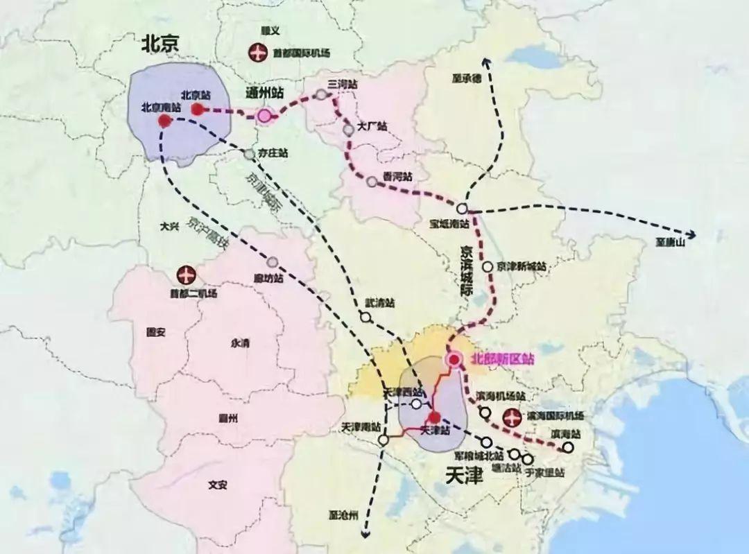 宁河 规划图