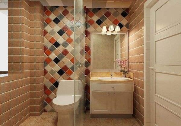 2平米长条厕所设计图