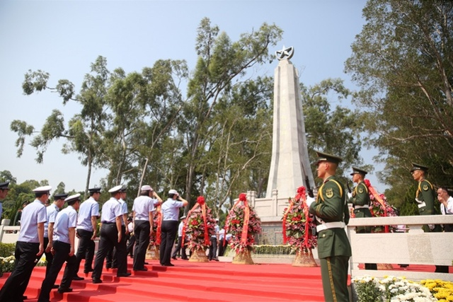 烈士纪念日,中山市举行公祭活动,杨殷烈士后人首次参加