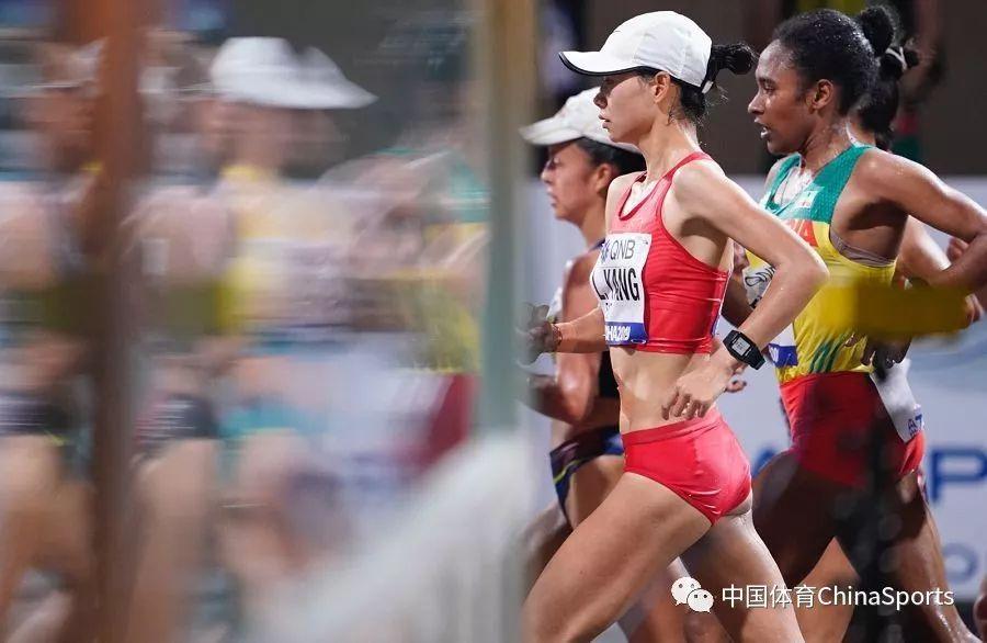 中国包揽世锦赛女子竞走20公里前三名