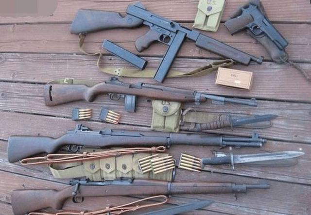 二战美军单兵弹药_二战期间世界各国士兵的武器装备,日本强悍的原因一看就懂_步枪