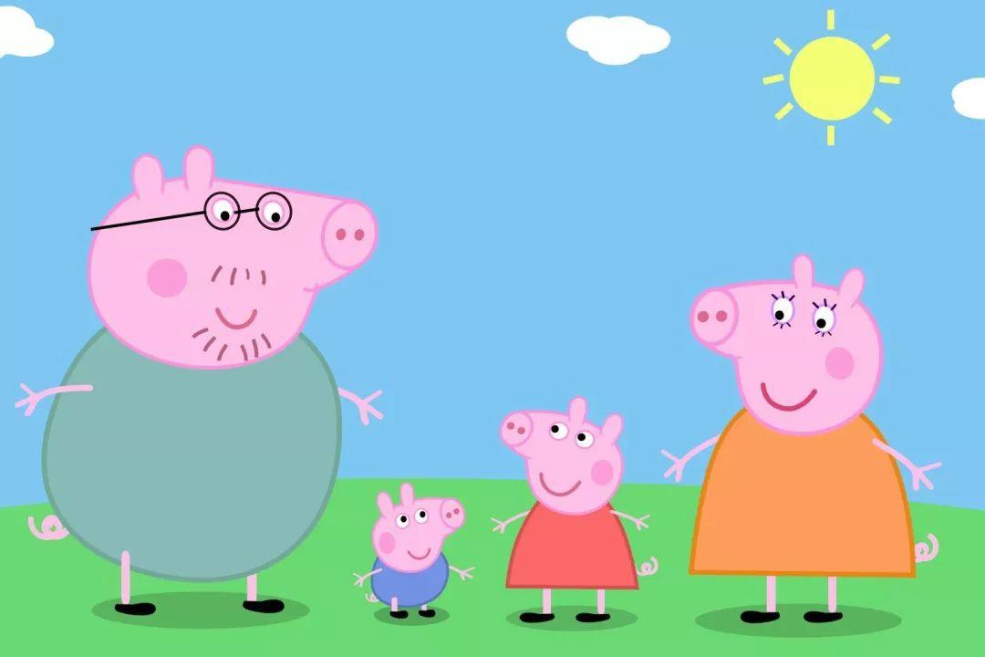 """连""""社会人""""都喜欢的小猪佩奇家庭"""
