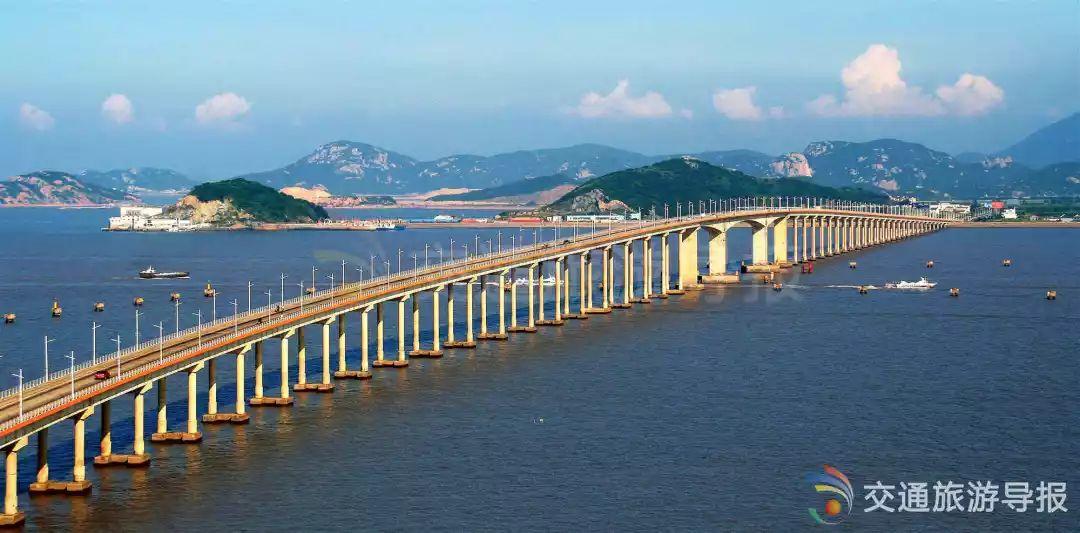 朱家尖跨海大桥|华东地区第一座特大型跨海大桥