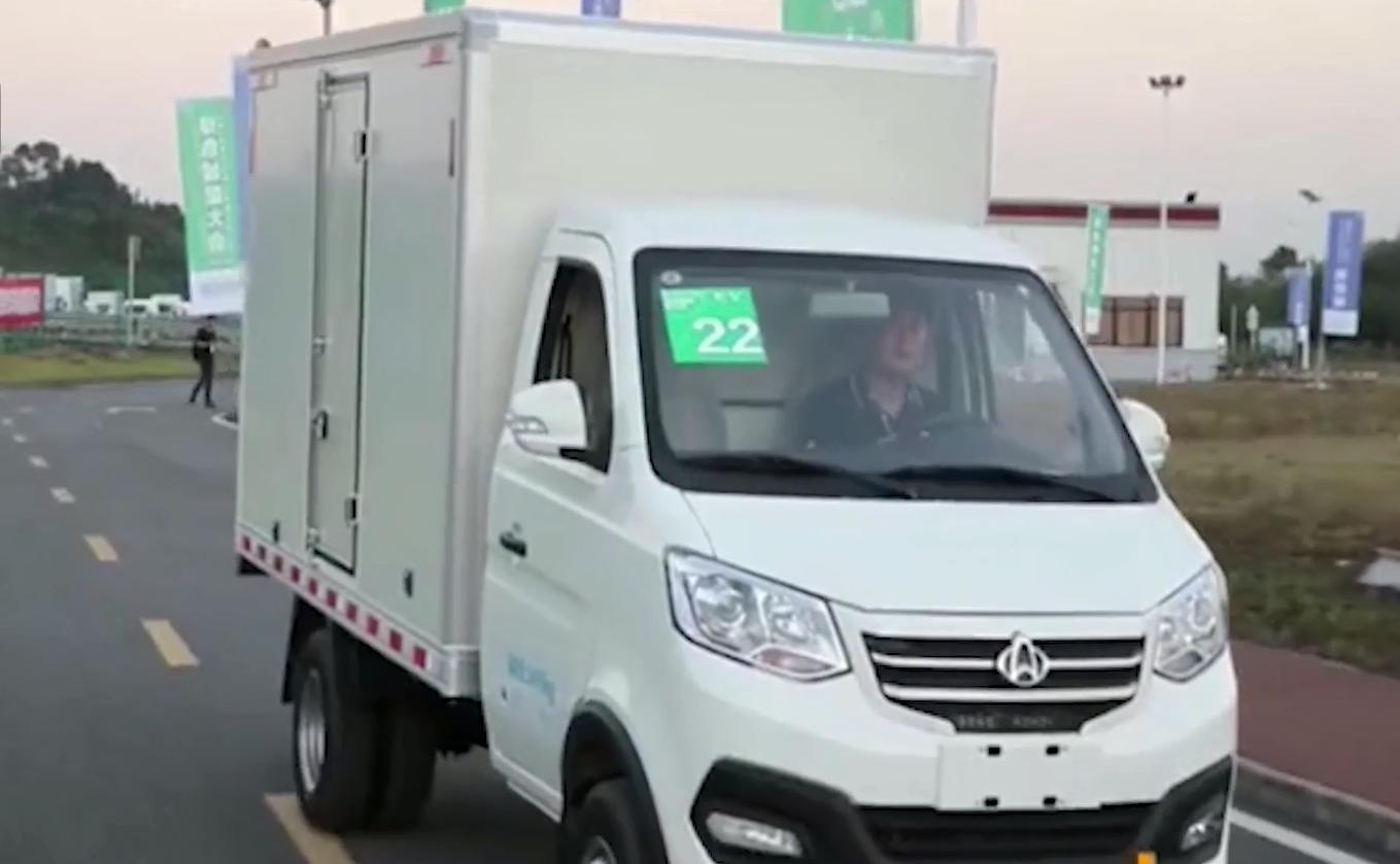 原创这些纯电动轻型卡车和微面使城市物流和配送更加经济,车身灵活,价格仍然很低