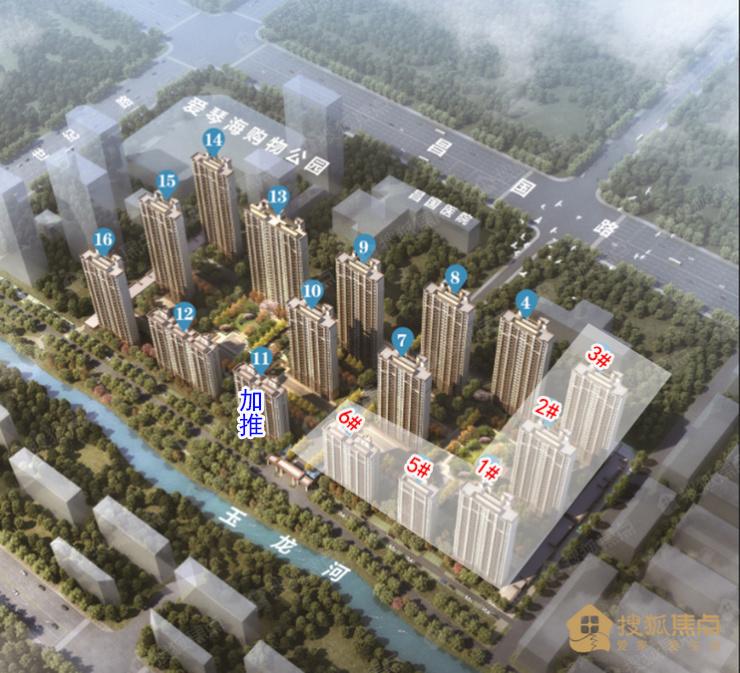 天泰·嘉亿城11楼加推 社区打制围合式景不雅结构社区