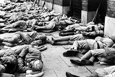 揭秘1949年解放上海时,陈毅十万大军睡马路的来龙去脉