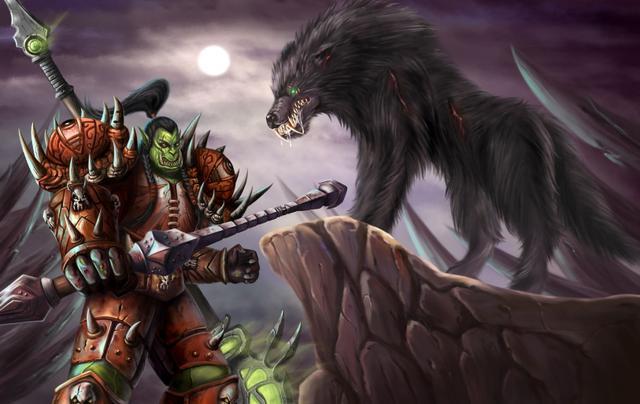 魔兽世界 全身发绿的兽人,他们的进化历程真的很奇葩