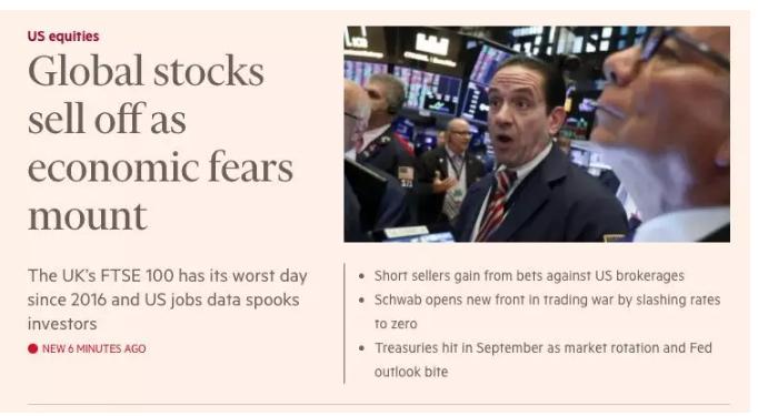 """连续两天,两个""""黑天鹅""""吓坏欧美市场!道指狂泻近500点,苹果市值蒸发1800亿元"""