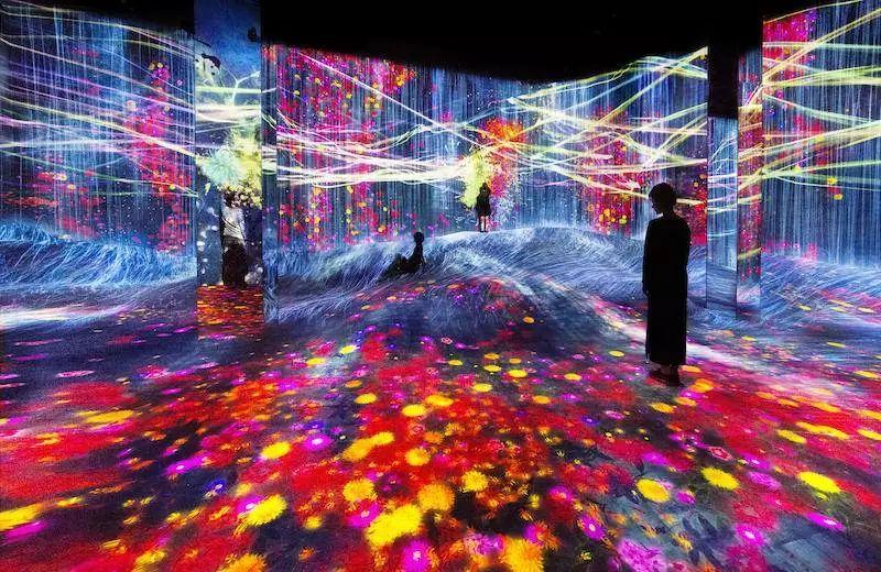 投影系列---沉浸式投影-投影互动-沉浸式互动体验