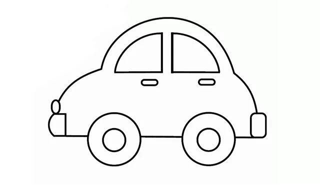 亲子画一画 简笔大风车 小汽车的画法