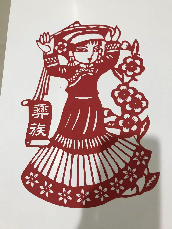初心 告白 相拥的石榴籽 澎湃的爱国情 浙水院学子剪纸献礼祖国图片