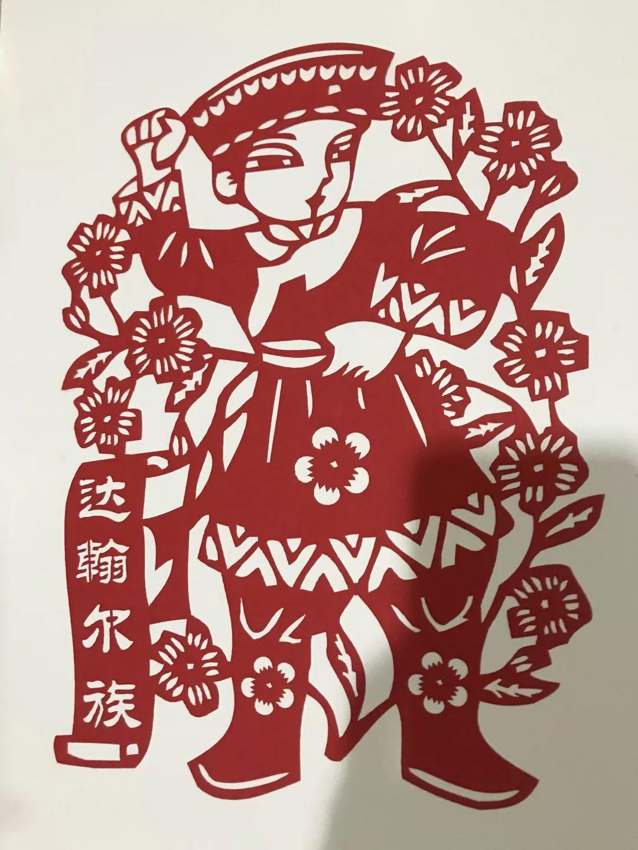 爱国手工剪纸图案及方法-折纸人 m.zhezhier.com