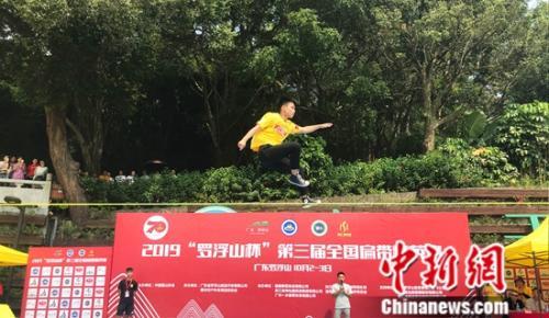 第三届全国扁带精英赛开赛60余位国内高手参赛