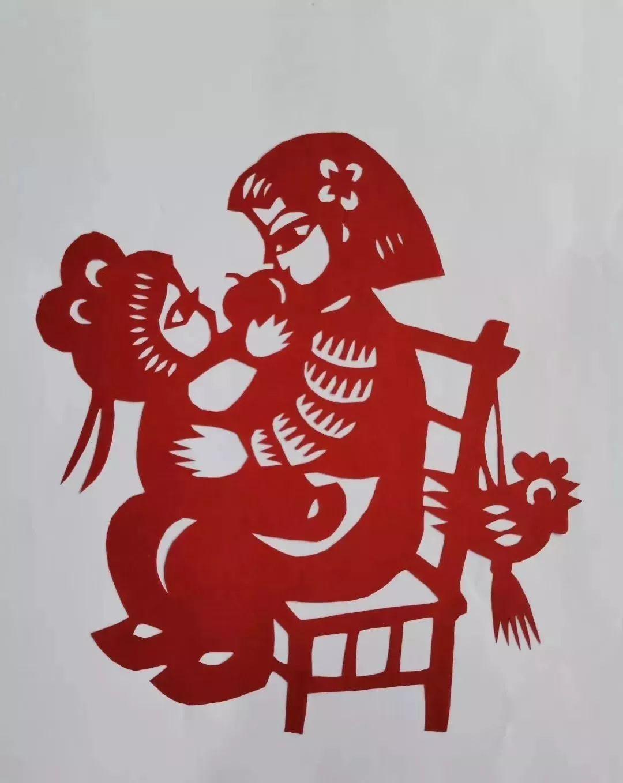 建国70周年剪纸材料定制建国宣传爱国爱党手工作业... _新浪博客