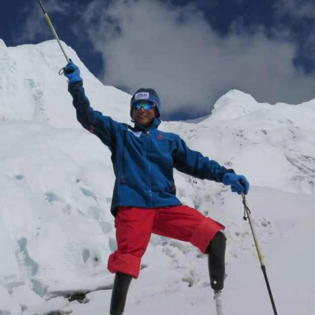《攀登者》原型无腿勇士夏伯渝将去敦煌戈壁徒步!国庆观礼阅兵式