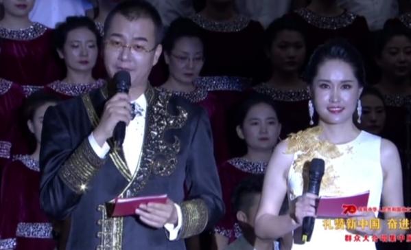 内蒙古乌兰察布市中心医院参加全市庆祝中华人民共和国成立70周年群众大合唱
