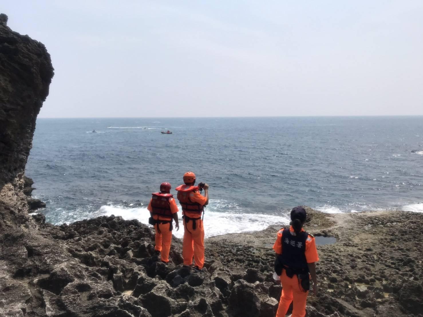 大陆游客在台潜水失踪:已扩大搜寻范围目前尚未找到_台湾