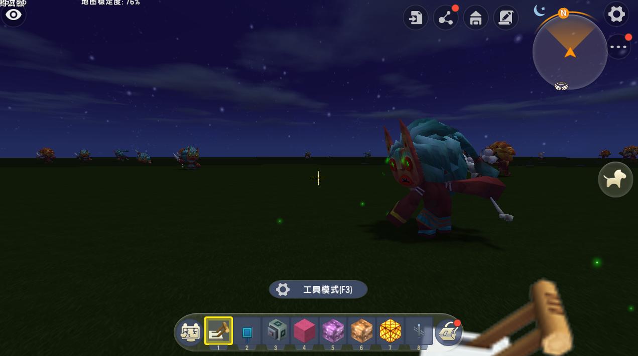 迷你世界:玩家意外发现水下新玩法,海底也能睡觉?大神都没见过