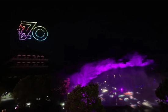 """24小时穿越上下五千年 浙江特征小镇里高科技演绎""""根宫夜宴"""""""