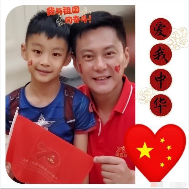 央视主持曹颖罕见晒儿子,8岁就是明星脸,老公酷似张信哲