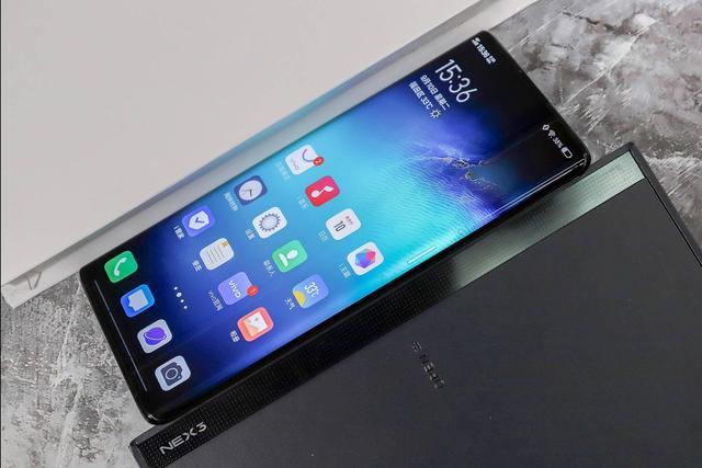 屏占比高达99.6%,NEX 3 5G这波极限操作真强,苹果你呢?