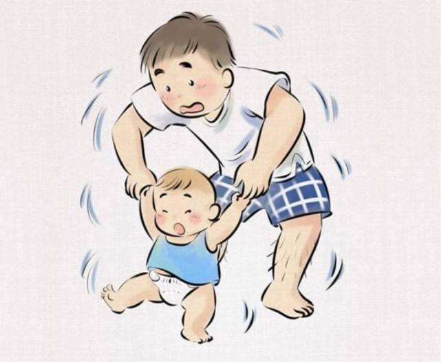 宝宝太调皮,爸爸不想让宝宝乱爬,想了个妙招,看完笑喷了