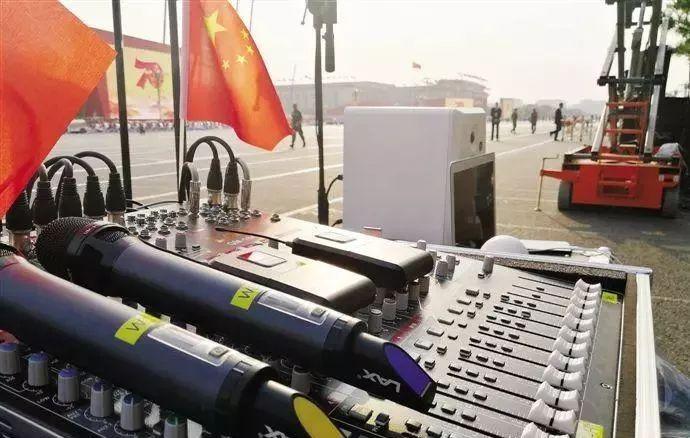 关注 阅兵仪式上音响保障团队来自广州提前一个月进场