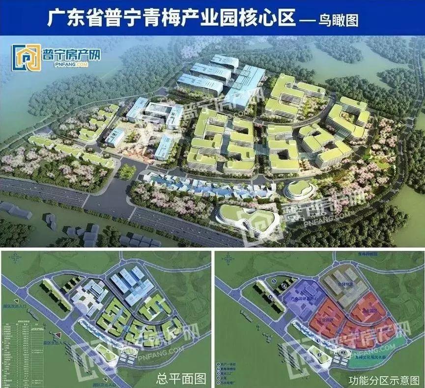 普宁西部两大 省重点项目 土地规划调整公示,将用于