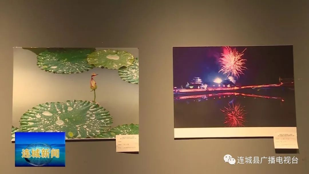 县领导参观庆祝新中国成立70周年暨人民政协成立70周年书画摄影作品展