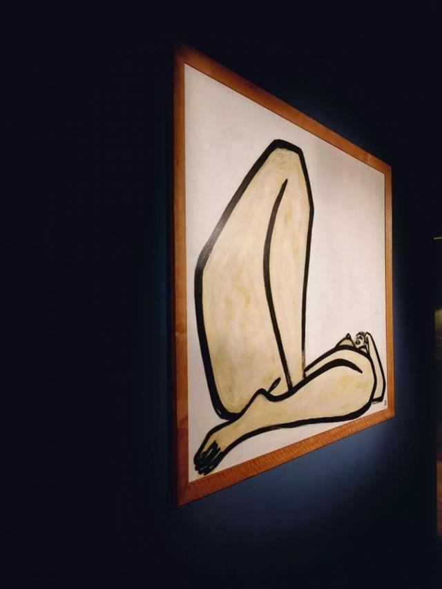 今晚拍出近1.98亿港元!常玉《曲腿裸女》平均画一笔一千万