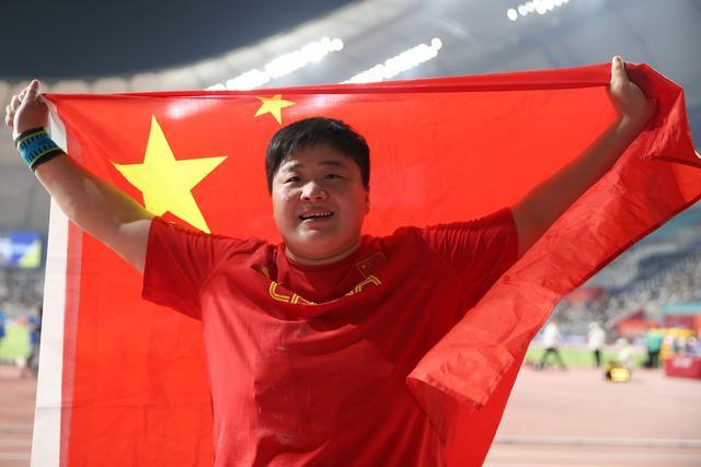 近26年来中国田径第一人!巩立姣卫冕世锦赛女子铅球冠军