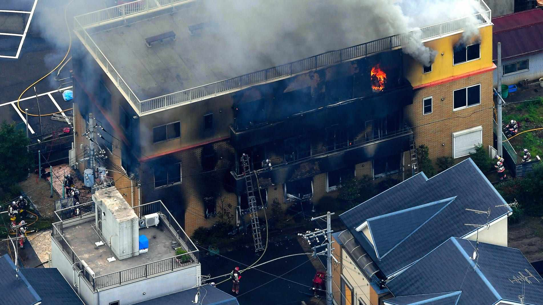 京都动画火灾遇难者增加一人,仍有5人住院