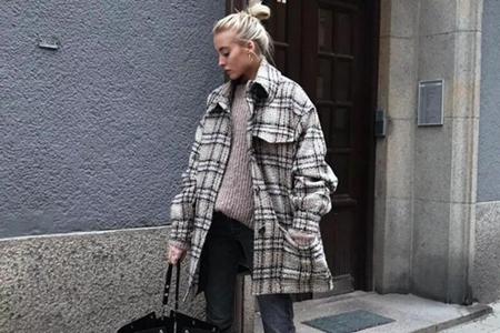 戈蔓婷女装:小个子秋冬穿衣经,短外套搭出气质造型