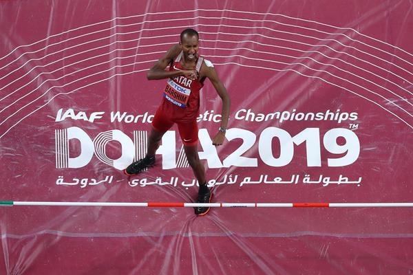 第8日美国队再破1项世界纪录巴尔希姆跳高卫冕